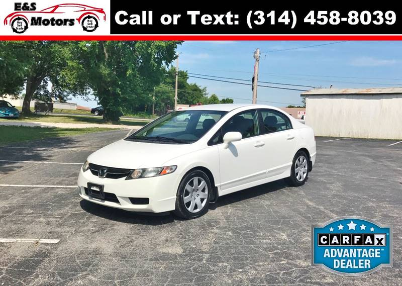 2011 Honda Civic for sale at E & S MOTORS in Imperial MO