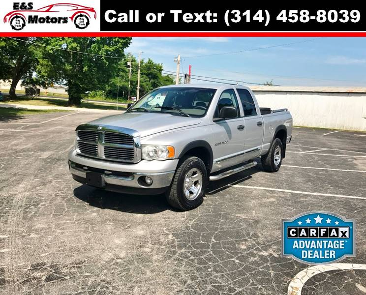 2004 Dodge Ram Pickup 1500 for sale at E & S MOTORS in Imperial MO