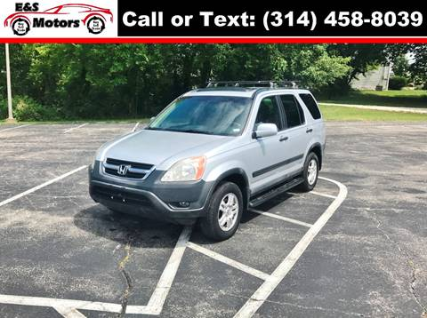 2004 Honda CR-V for sale at E & S MOTORS in Imperial MO
