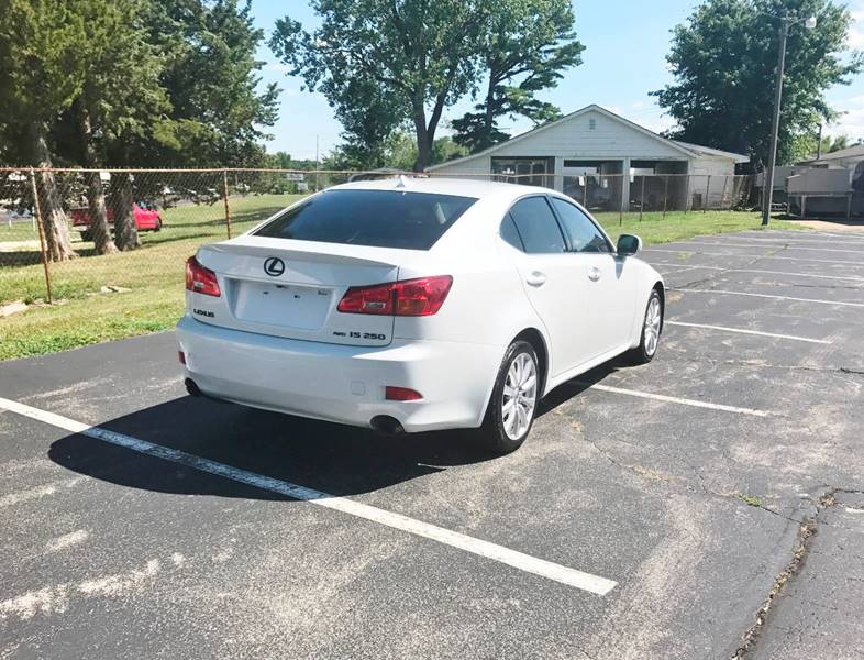 2007 Lexus IS 250 for sale at E & S MOTORS in Imperial MO