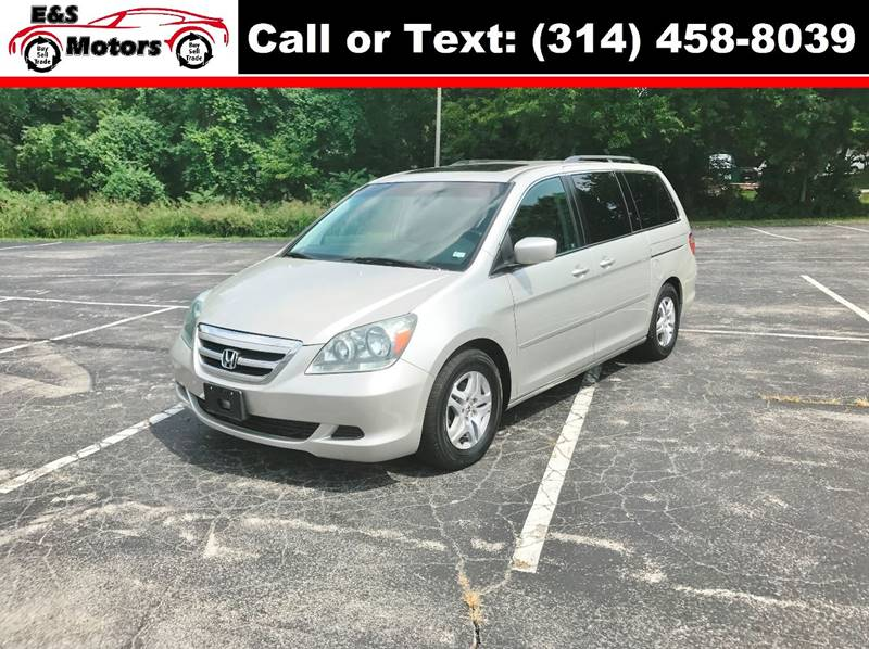 2006 Honda Odyssey for sale at E & S MOTORS in Imperial MO