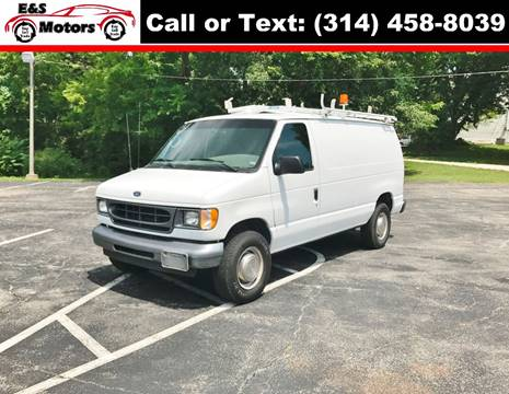 2002 Ford E-Series Cargo for sale at E & S MOTORS in Imperial MO