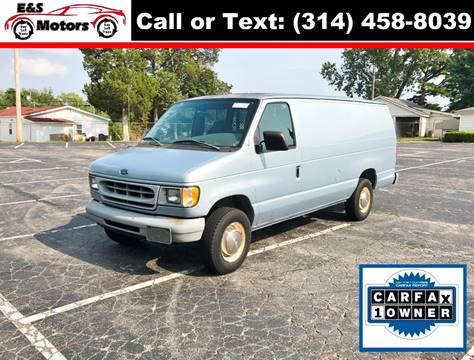 1999 Ford E-250 for sale at E & S MOTORS in Imperial MO