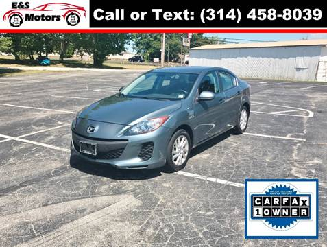 2012 Mazda MAZDA3 for sale at E & S MOTORS in Imperial MO
