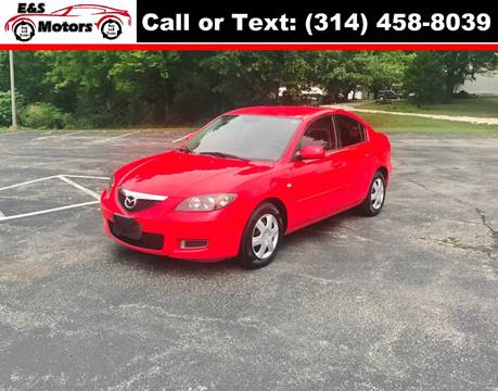2008 Mazda MAZDA3 for sale at E & S MOTORS in Imperial MO