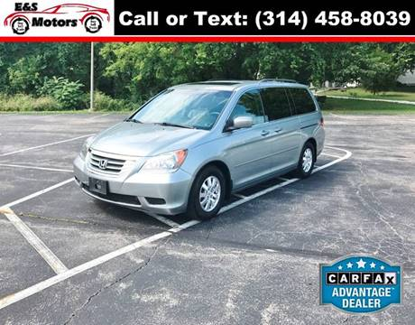 2009 Honda Odyssey for sale at E & S MOTORS in Imperial MO