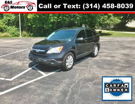 2008 Honda CR-V for sale at E & S MOTORS in Imperial MO