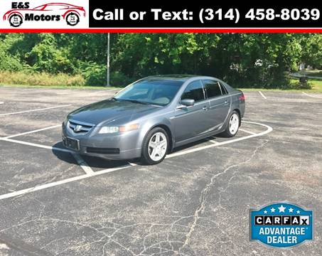 2005 Acura TL for sale at E & S MOTORS in Imperial MO