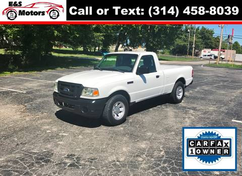 2011 Ford Ranger for sale at E & S MOTORS in Imperial MO
