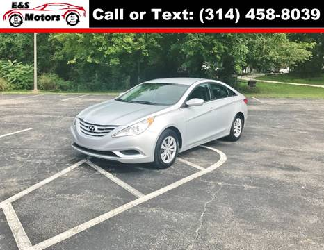 2012 Hyundai Sonata for sale at E & S MOTORS in Imperial MO