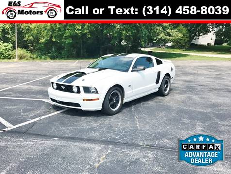 2007 Ford Mustang for sale at E & S MOTORS in Imperial MO