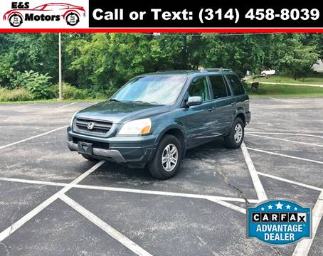 2005 Honda Pilot for sale at E & S MOTORS in Imperial MO