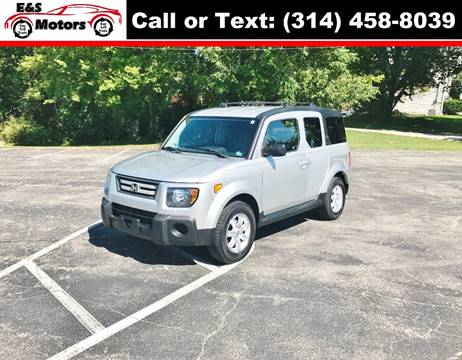 2007 Honda Element for sale at E & S MOTORS in Imperial MO