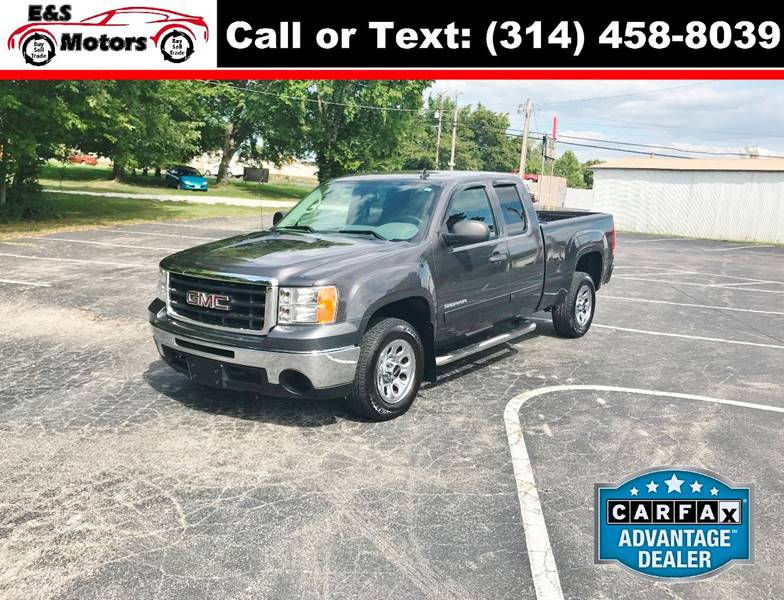 2010 GMC Sierra 1500 for sale at E & S MOTORS in Imperial MO
