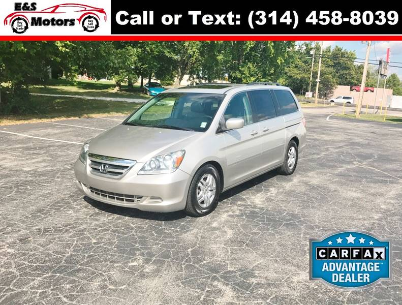 2005 Honda Odyssey for sale at E & S MOTORS in Imperial MO