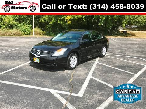 2008 Nissan Altima for sale at E & S MOTORS in Imperial MO