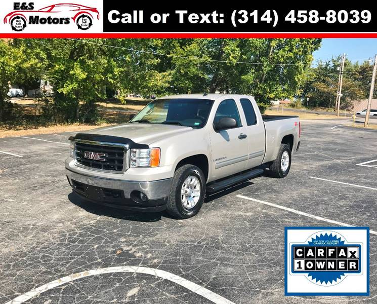 2008 GMC Sierra 1500 for sale at E & S MOTORS in Imperial MO