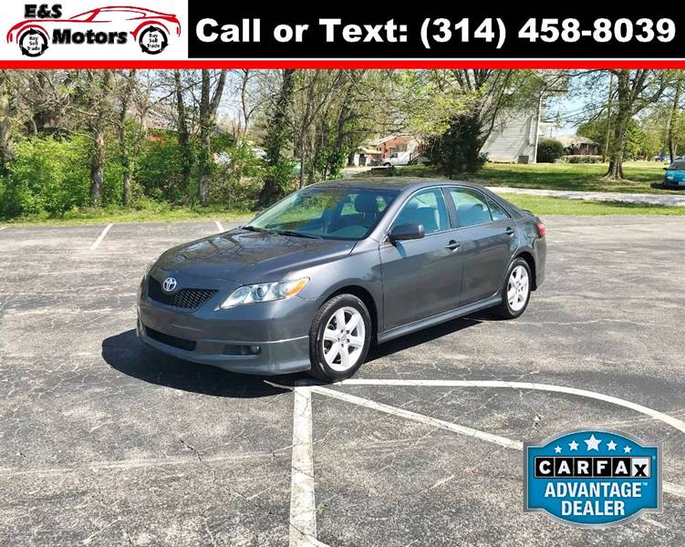 2008 Toyota Camry For Sale At E U0026 S MOTORS In Imperial MO
