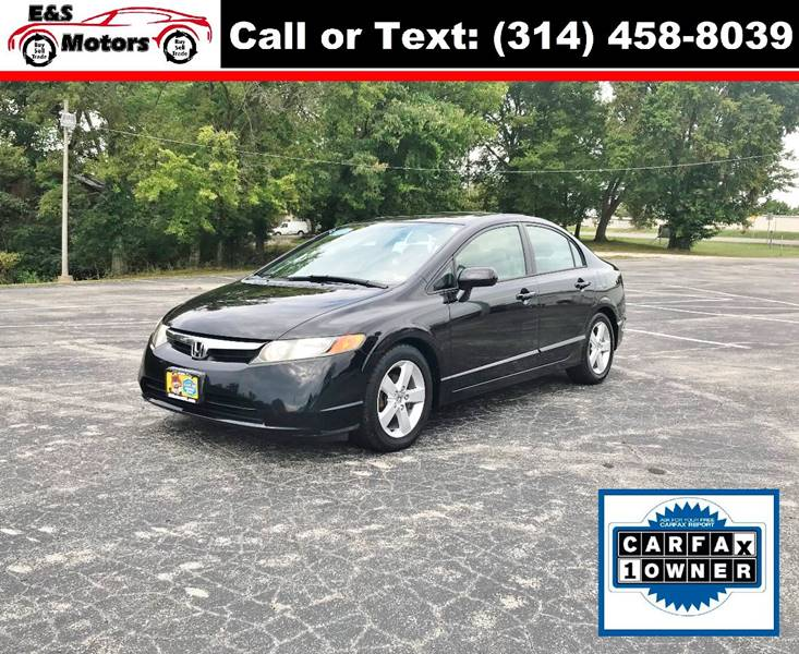 2007 Honda Civic For Sale At E U0026 S MOTORS In Imperial MO