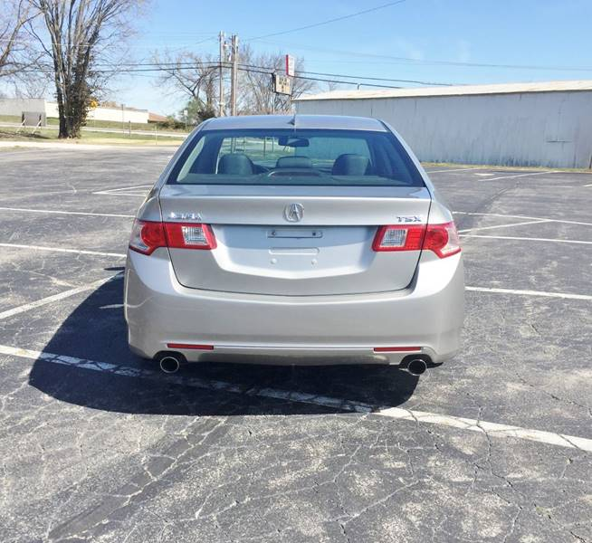 2010 Acura TSX for sale at E & S MOTORS in Imperial MO