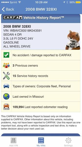 2008 BMW 3 Series AWD 328xi 4dr Sedan - Imperial MO