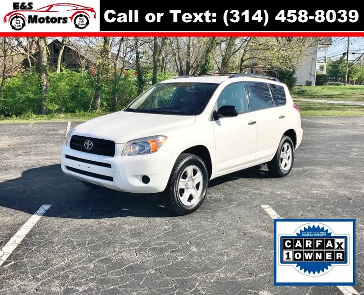 2007 Toyota RAV4 4dr SUV 4WD I4 - Imperial MO