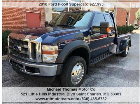 2010 Ford F-550 Super Duty for sale in Saint Charles, MO