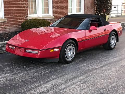 1986 Chevrolet Corvette For Sale In Saint Charles Mo