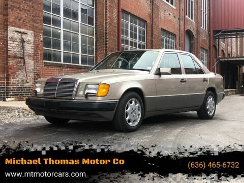 1992 Mercedes-Benz 300-Class 300 E for sale at Michael Thomas Motor Co in Saint Charles MO