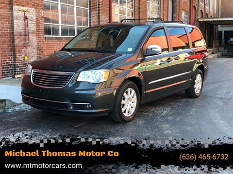 2011 Chrysler Town and Country Touring-L for sale at Michael Thomas Motor Co in Saint Charles MO