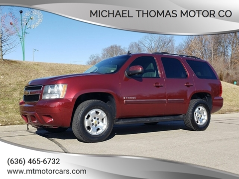 2009 Chevrolet Tahoe LT for sale at Michael Thomas Motor Co in Saint Charles MO