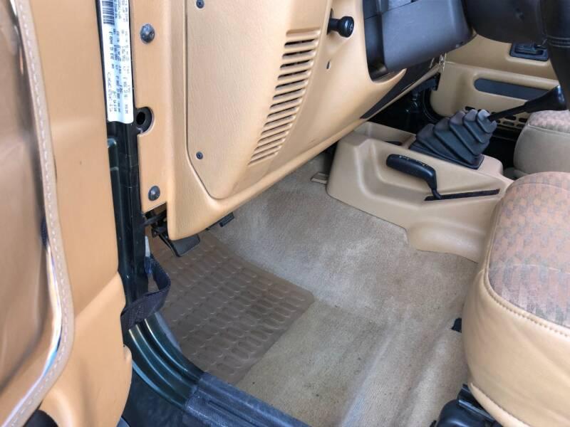 1998 Jeep Wrangler 2dr Sport 4WD SUV - Saint Charles MO