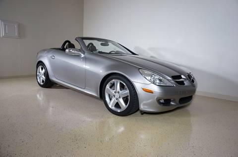 2005 Mercedes-Benz SLK for sale at TopGear Motorcars in Grand Prarie TX