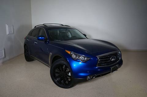 2012 Infiniti FX35 for sale at TopGear Motorcars in Grand Prarie TX