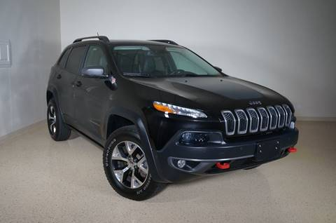 2014 Jeep Cherokee for sale at TopGear Motorcars in Grand Prairie TX