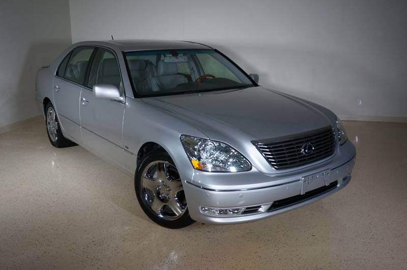 2004 Lexus LS 430 for sale at TopGear Motorcars in Grand Prarie TX