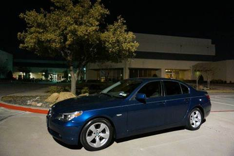 2005 BMW 5 Series for sale at TopGear Motorcars in Grand Prarie TX