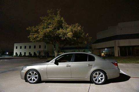 2009 BMW 5 Series for sale at TopGear Motorcars in Grand Prarie TX