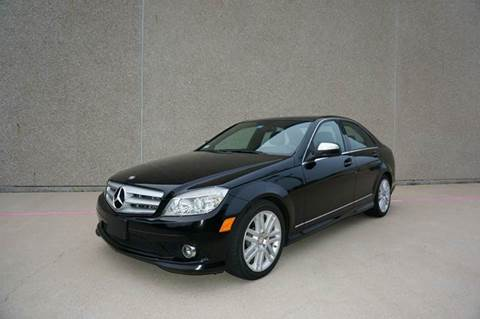 2009 Mercedes-Benz C-Class for sale at TopGear Motorcars in Grand Prarie TX