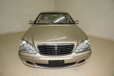 2004 Mercedes-Benz S-Class for sale at TopGear Motorcars in Grand Prarie TX