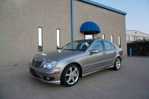 2007 Mercedes-Benz C-Class for sale at TopGear Motorcars in Grand Prarie TX