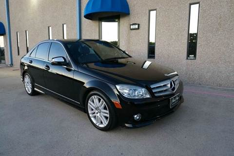 2008 Mercedes-Benz C-Class for sale at TopGear Motorcars in Grand Prarie TX
