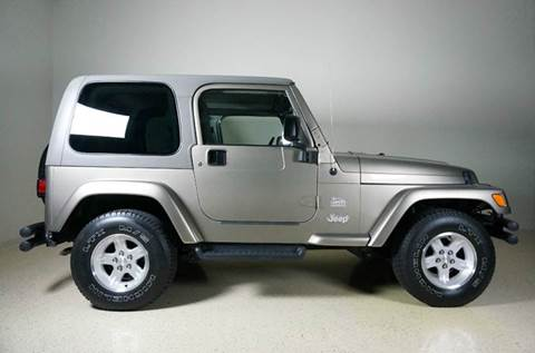 2004 Jeep Wrangler for sale at TopGear Motorcars in Grand Prarie TX