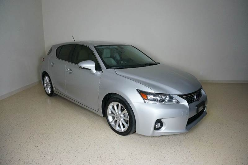 2012 Lexus CT 200h for sale at TopGear Motorcars in Grand Prarie TX