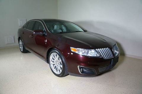 2011 Lincoln MKS for sale at TopGear Motorcars in Grand Prarie TX