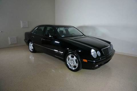 2001 Mercedes-Benz E-Class for sale at TopGear Motorcars in Grand Prarie TX