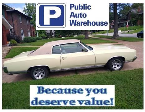 1970 Chevrolet Monte Carlo for sale in Pekin, IL