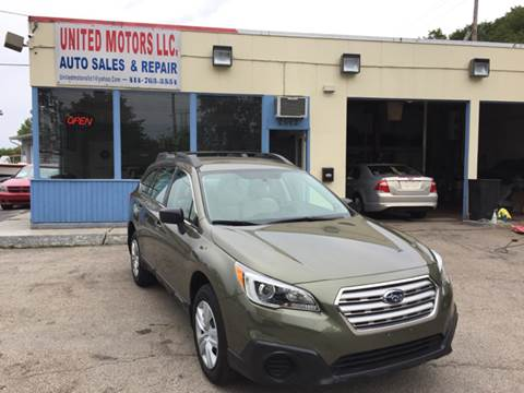 2015 Subaru Outback for sale in Saint Francis, WI