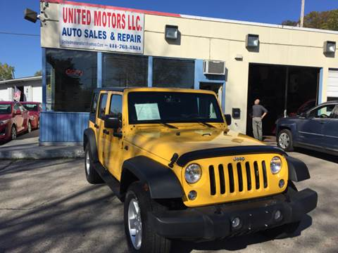 2015 Jeep Wrangler Unlimited for sale in Saint Francis, WI