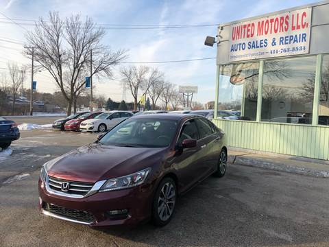 2015 Honda Accord for sale in Saint Francis, WI